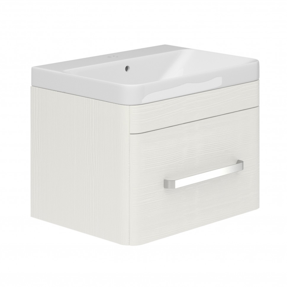 esk wall mounted 800 vanity unit white