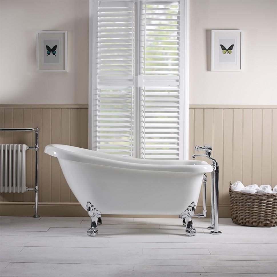 henley 1550mm slipper bath