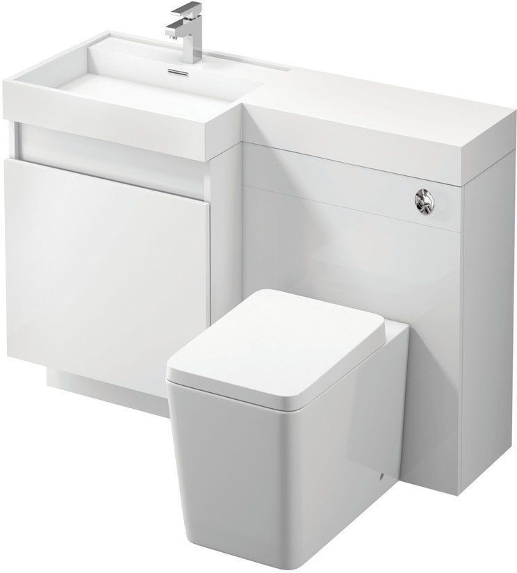 Combined wc and sink unit air cooler krisbow
